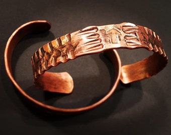 Hand Forged Copper Bracelet