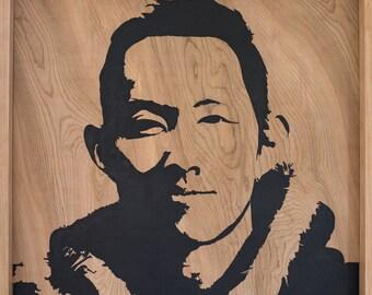 Native-Natural Wood Portraits