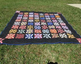 King Size Quilt Multi Colors