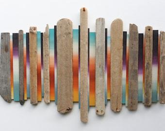 Wall Art | Large Wall Art | Driftwood Art | Wood Wall Art | Abstract | Home decor| Beach art | Rustic | Driftwood | Jurassic Coast #7 |