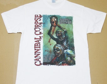Cannibal Corpse Unleashing The Bloodthirsty, T-shirt 100% Cotton