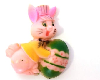 Vintage Easter Bunny Rabbit Decoration for Cakes or other crafts