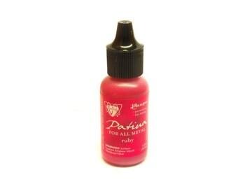 Ranger Vintaj patina 15ml bottle Ruby Ruby Red pink