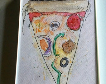 Another little pizza my heart 5x7
