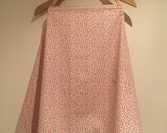 Nursing cover - red floral print and other options!