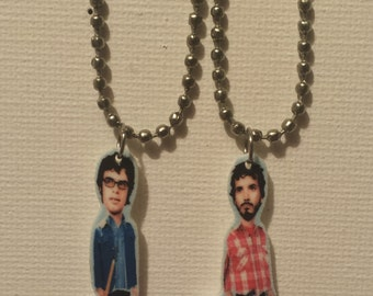 Handmade Flight of the Conchords Best Friends Necklaces