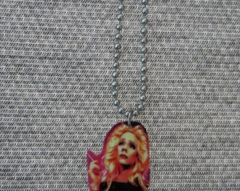 Handmade Hedwig and The Angry Inch necklace