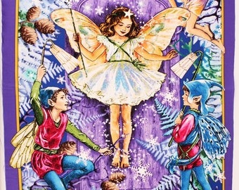 "Enchanted Fairy by Michael Miller by the Panel 26"" x 44"" ( 60Cm x 110Cm )"