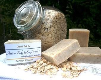 Oatmeal Bath Soap, 4.5 oz.