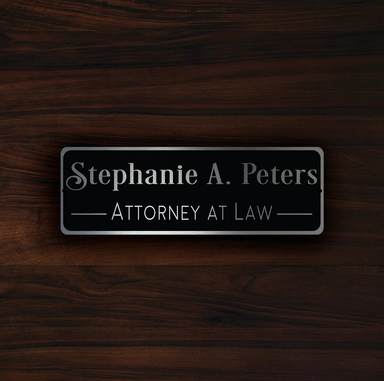 Custom door name plaque sign personalized door plaque for Door name signs