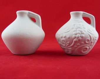 "Set ""ALLADIN"" Ceramic Bisgue Pottery Ready to Paint"