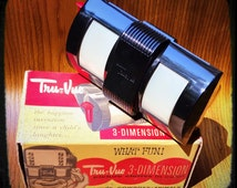 1940/50's Tru-Vue 3 Dimension (3D) Viewer with Original Box