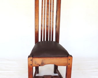 Greene and Greene style Upright Chair