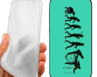 Human evolution case cover for htc desire 510
