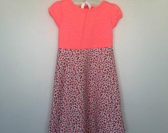 Tshirt rosebud dress