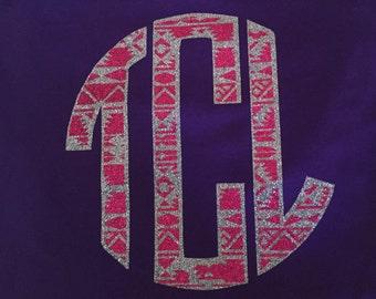 Aztec initial shirt