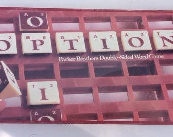 Vintage 1983 Option game by parker brothers