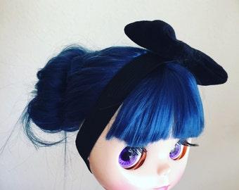 Black hairband for Blythe