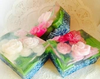 Floating Rose Soap