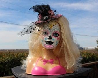 Sugar Skull Día de los Muertos Doll