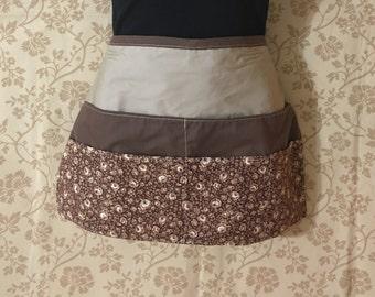 Ladies womans half apron