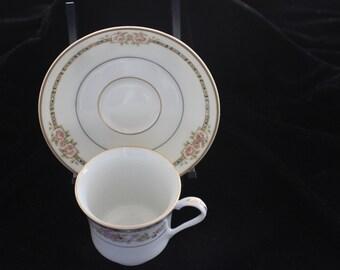 HB teacup and saucer