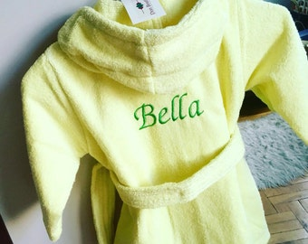 Personalized Baby Robs (order with your name (3-15 years old)