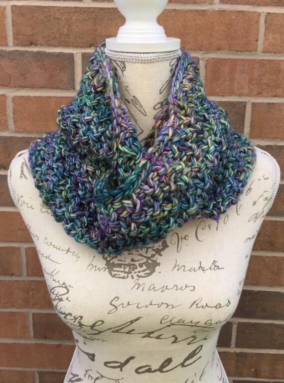 Knitting Patterns For Advanced Beginner : Cowl knitting kit, advanced beginner knitting kit, knitting cowl pattern, DIY...