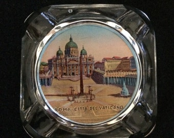 Vatican City ashtray