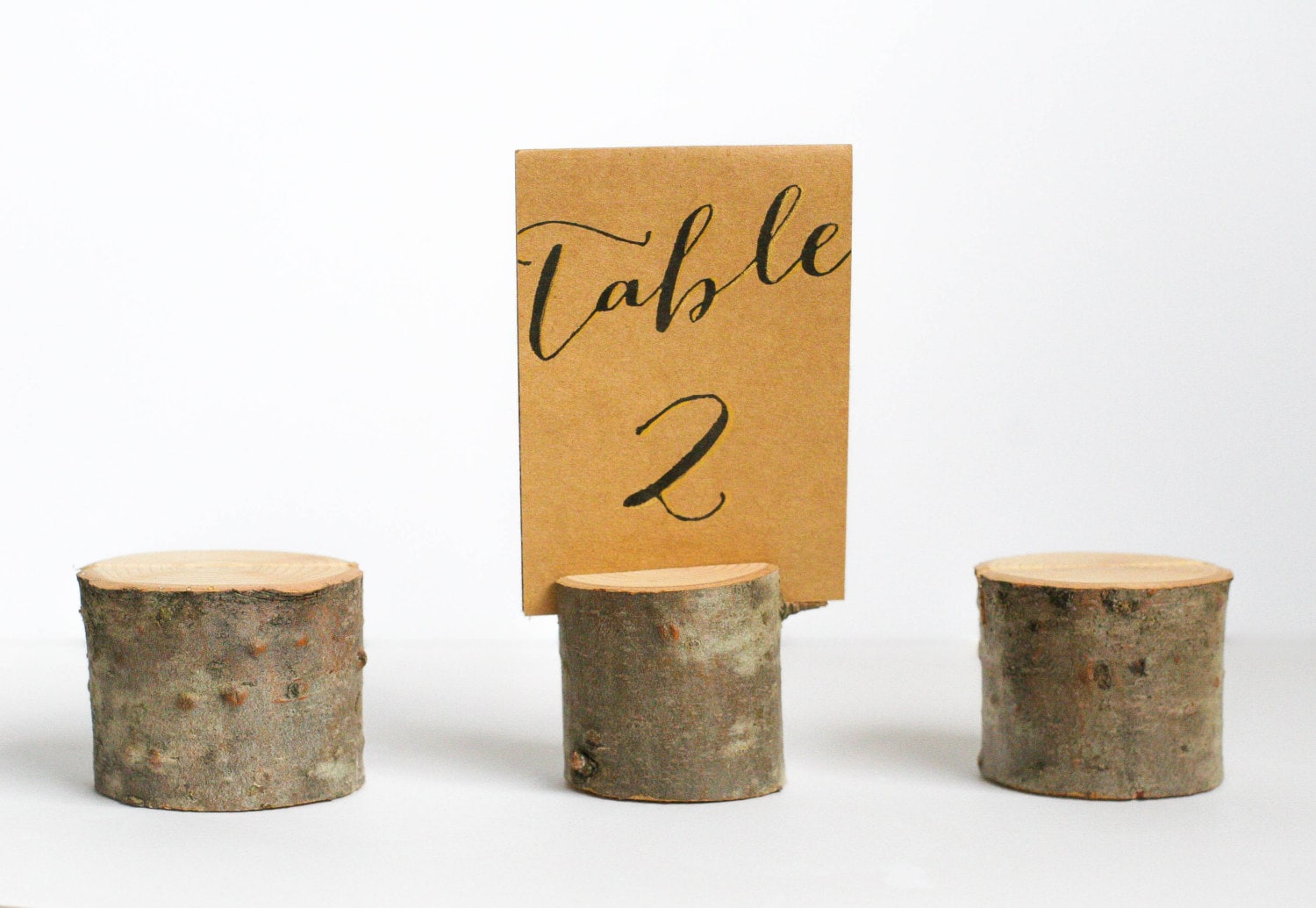 Superb img of Wood Wedding Table Number Holders Set of 6 by MrandMrsWhitman with #B57F16 color and 1500x1035 pixels