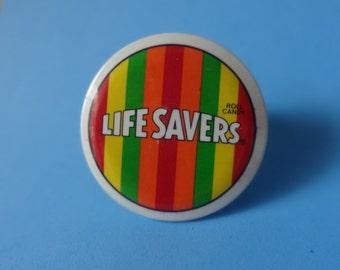 Vintage Life Saver's Promo Pin