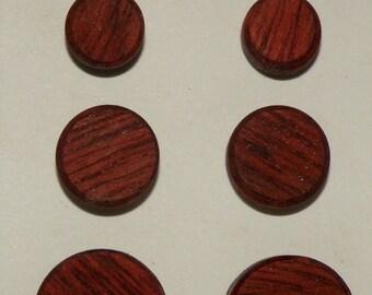 Earrings- Bloodwood