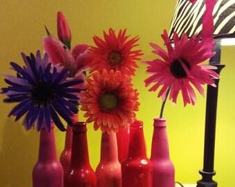 Simple Red vase