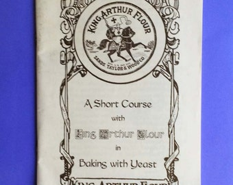 King Arthur Flour Baking with Yeast, with insert