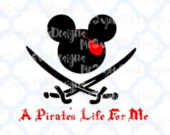 Pirates Life For Me SVG,EPS,PNG,Studio