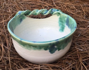 Decorative Twisted Handle Bowl