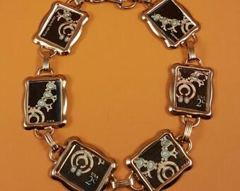 Navajo Stamp Bracelet