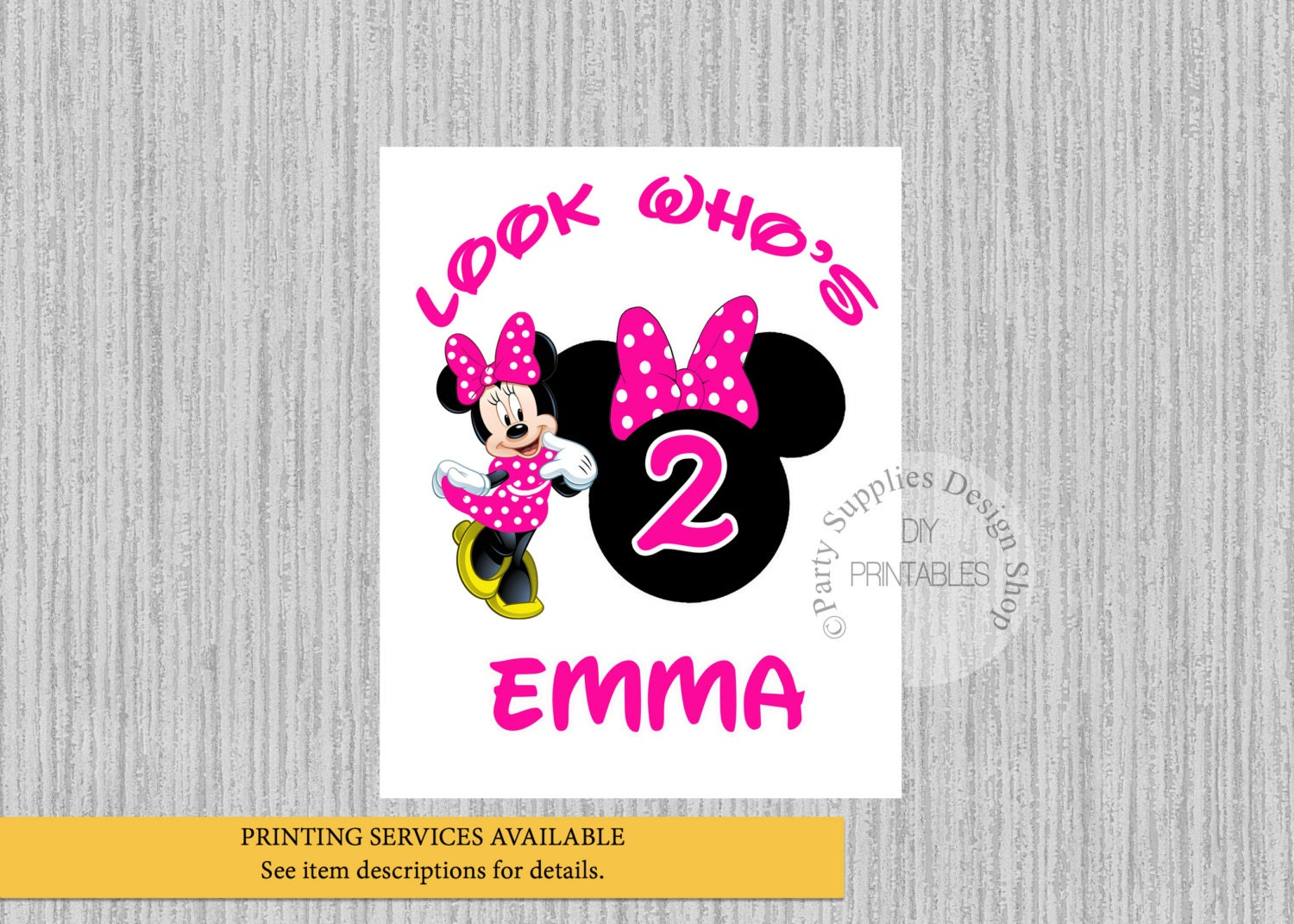 Design your own t-shirt hot pink - Disney Minnie Mouse Birthday Iron On Hot Pink Minnie Birthday Tshirt Printable Minnie Personalized Iron On Diy Printables Digital Image