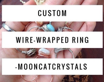 Custom Wire-Wrapped Ring