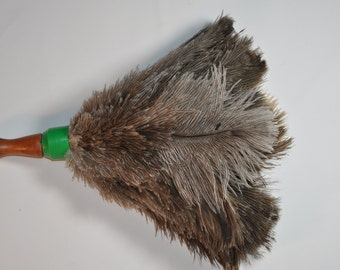 Ostrich feather duster CT 1103 by etsy. com ostrich products shop