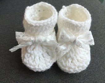 Blessing baby booties