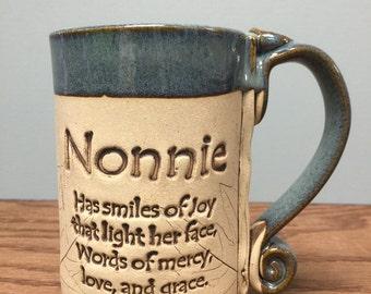 Nonnie stoneware mug