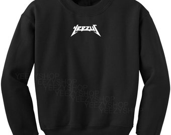 Yeezus Tour Sweatshirt Kanye West Yeezy Sweatshirt