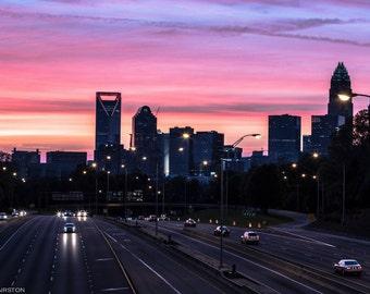 Charlotte, NC Sunset