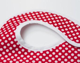 Baby Bib polka dots