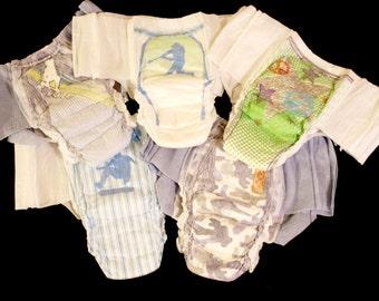 Goodnights Bedtime Underwear Diapers size XL-XXL fits 120-250 lbs. Custom Adult Boys/Mens Design