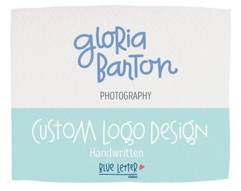 CUSTOM HANDWRITTEN Logo Design.
