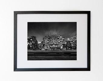 Habitat 67  – Montreal's edgiest landmark – Art Print with Mat, 11x14 in or 8x10 in