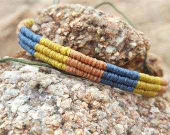 Friendship Bracelet Macrame Colorfull