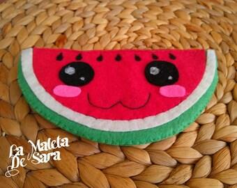 Watermelon purse Kawaii